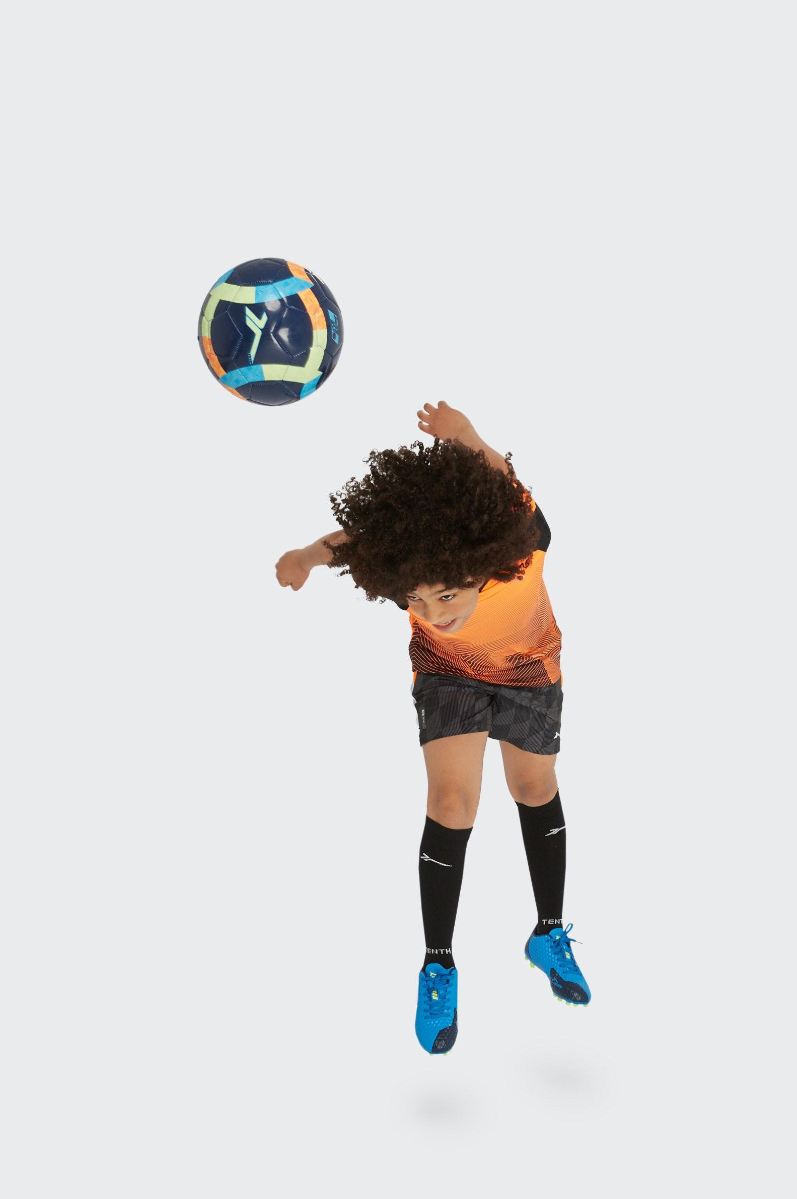 SHORT FOOTBALL TENTH AOP MESH GARÇON