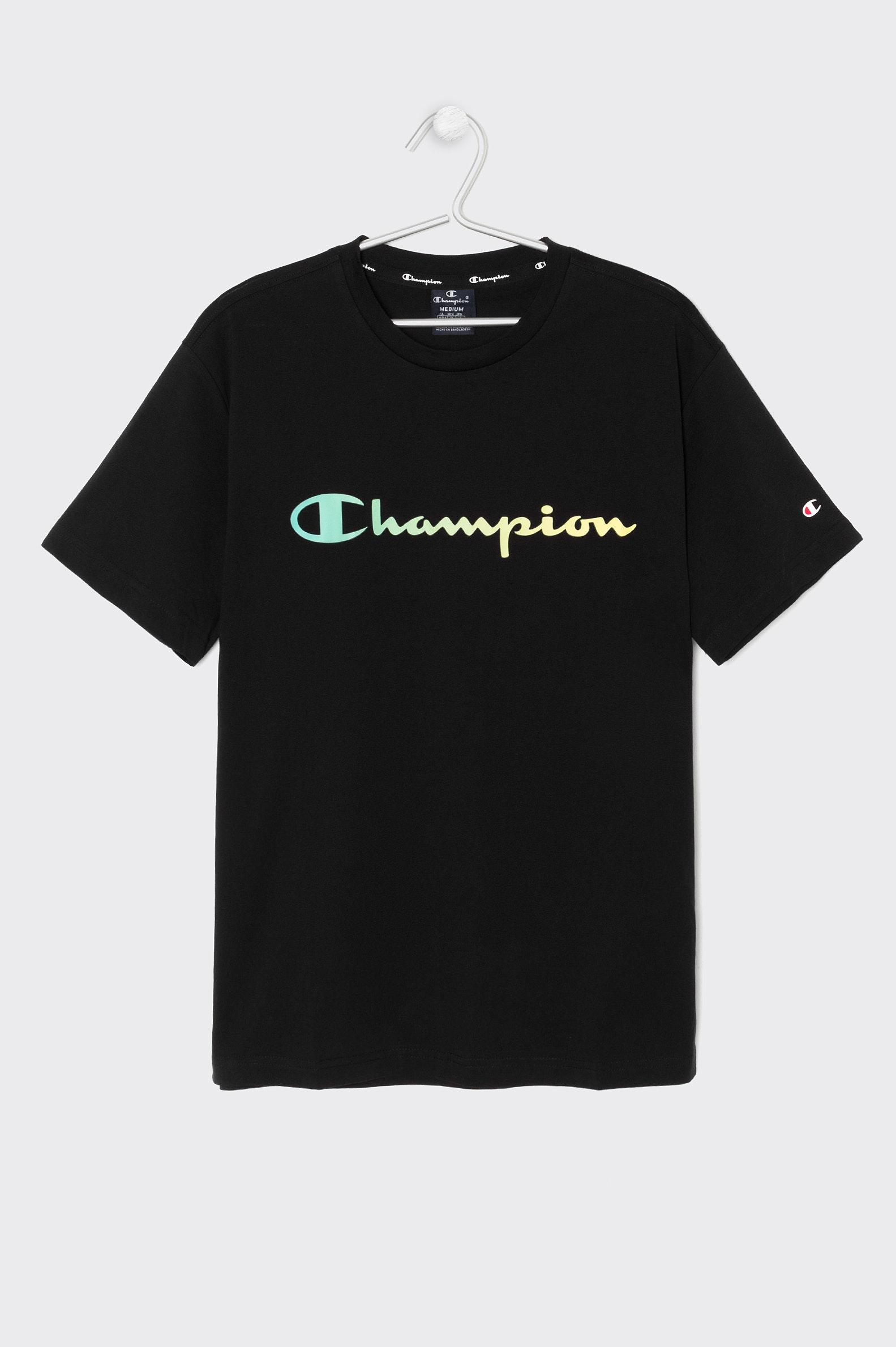 T-SHIRT CASUAL CHAMPION 215791 HOMEM