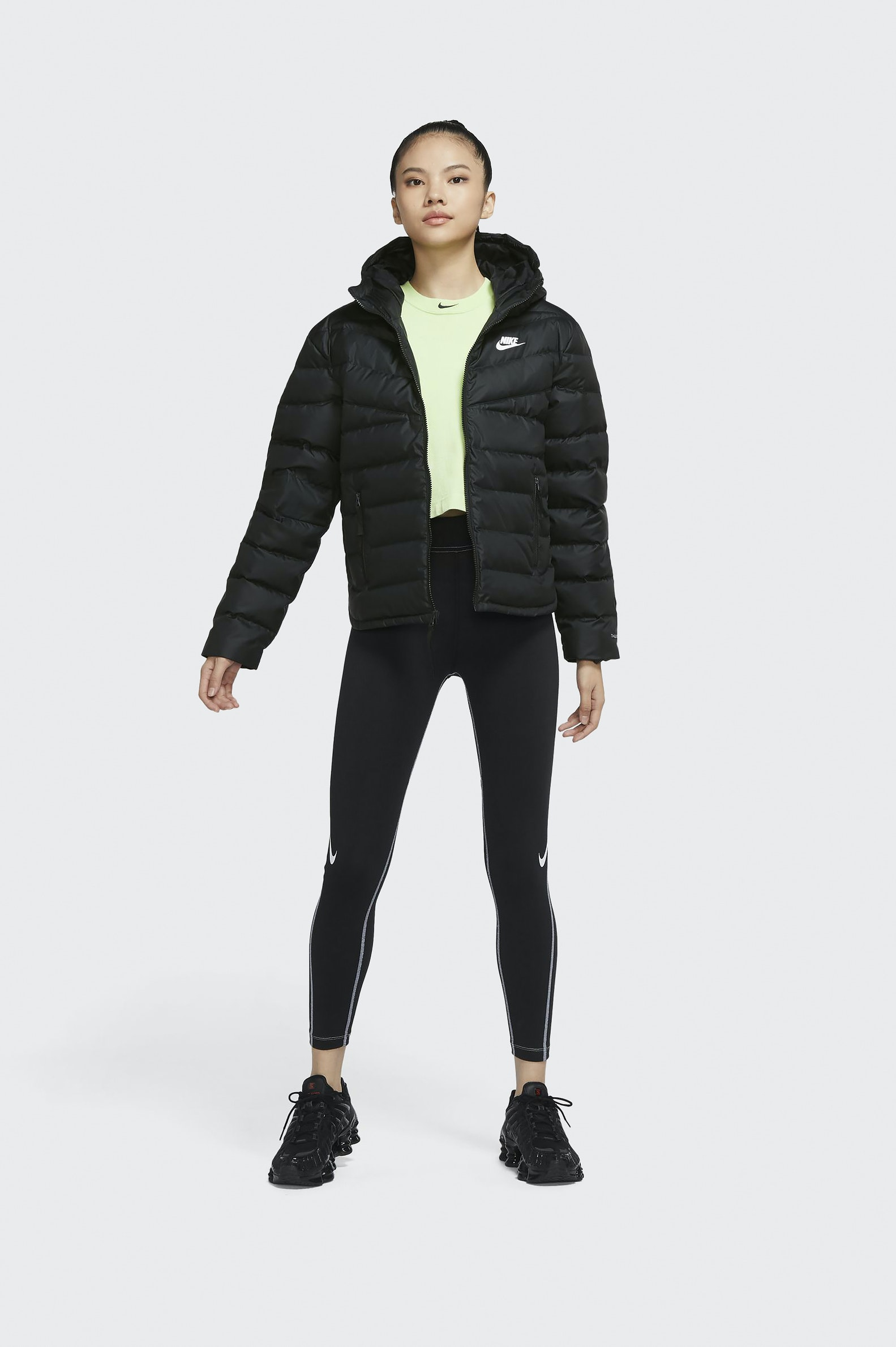 CAZADORA CASUAL NIKE THERMA-FIT MUJER